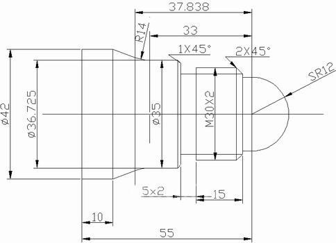 数控车床编程实例例一-国际金属加工网