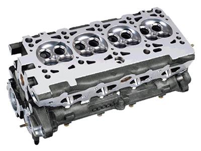 轿车发动机,特别是小排量的汽油机,从省油及高效的角度出发,缸体