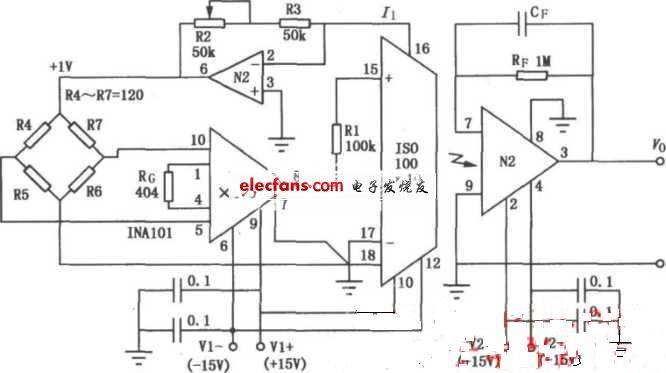 iso1o0电桥隔离放大电路图-国际金属加工网
