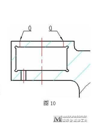 整个零件加工完成后主要尺寸检验报告如表1:(三丰投影仪放大