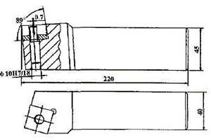 汽轮机生产中光杆偏心式车刀的应用