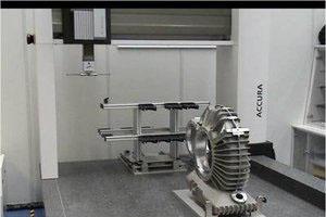大型三坐标测量机通常采用桥式或龙门式结构