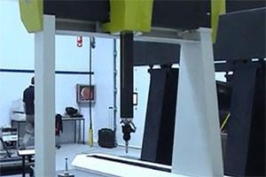 英诺法利激光扫描测量系统—龙门式三坐标测量叶片
