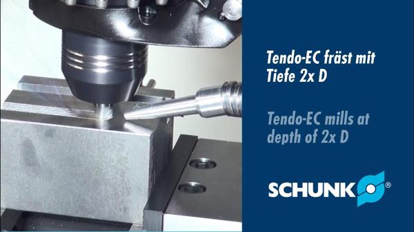 雄克TENDO E compact液压刀柄铣削操作