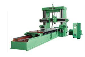 宜柴大型数控龙门移动式铣床投入使用