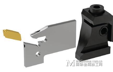 山高150.10-JETI切断刀板和刀座-优化的直冷通盘网旋转舞台图纸图片