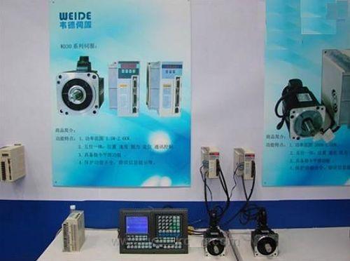 韦德电气伺服电机系列成功亮相广州SIAF