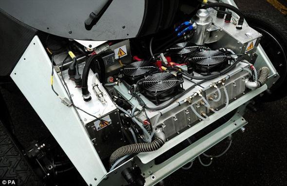 氢燃料汽车的发动机