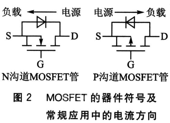 电路中,对于n沟道mosfet,电流是从漏极流向源极,栅极g接高电压导通