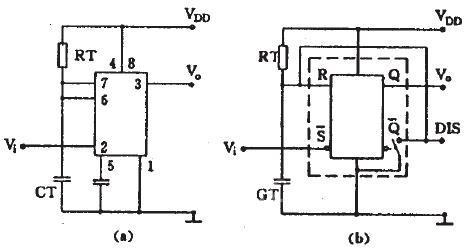 555时基电路应用和工作原理