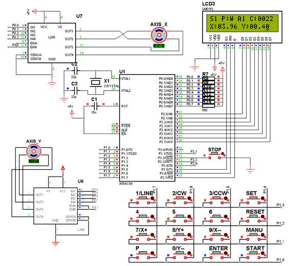 步进电机控制系统硬件电路仿真