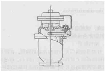所以在超声波时差式流量计前大于10倍管径处安装了排气阀,确保计量图片