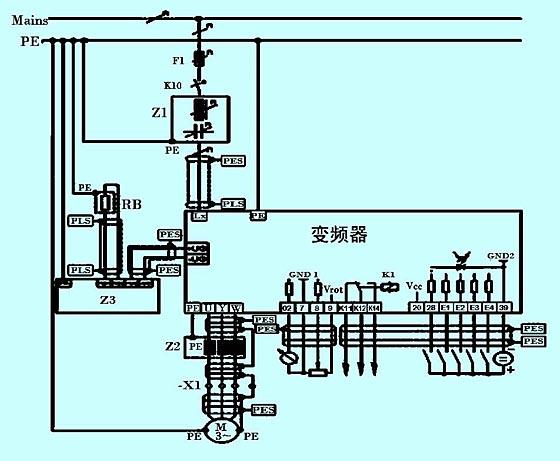 皮带机制动器 电路