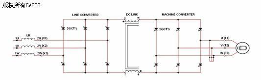电流型变频器电路拓扑图