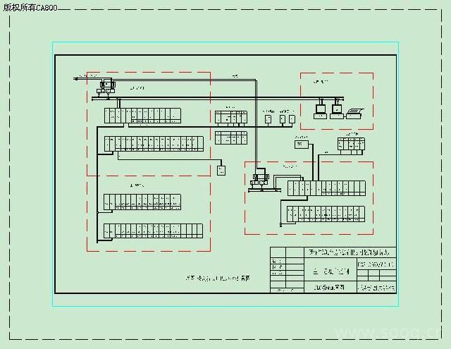 台,其中,进线两回、PT两回、联络一回、负荷24回。   为实现变电所三遥控制,在每台高压柜加装一套FLEX远程I/O模块,通过DeviceNet网与设在所内的PLC联网,经ControlNet工控网与设在调度室主控机链接,实现在调度室对高压柜的分合闸及检测分合闸与储能状态;微机保护系统,通过该系统通讯机Modbus口与PLC联网,实现在调度室监测各高压柜电气参数(如电压、电流、有功功率、电度、cos 等)及其状态参数(如短路、过流、漏电、失压等)。   (2)自动控制原理   被控设备:3个高压柜、3