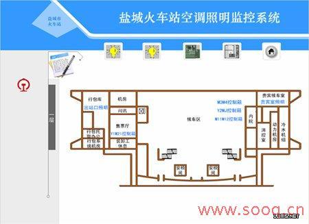 浙大中控楼宇自控系统在江苏盐城火车站的完美应用