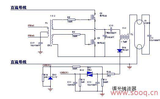 ③调光模块电路如图4所示