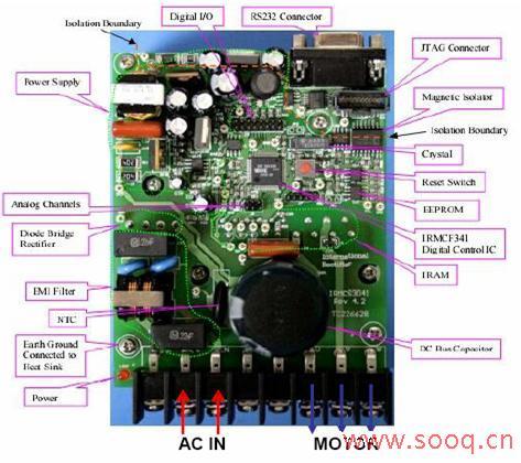 美新科新科的空调电路板接线图