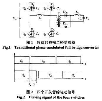 变压器副边电流箱位电路工作原理及滞后桥臂开关管原理分析