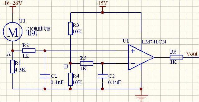 基于lm393的电机保护电路设计