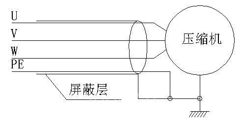 图(一)压缩机接线图