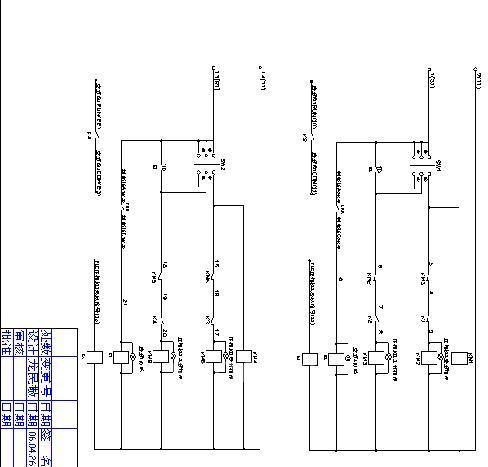 控制线接线要求:  电气控制原理图见图(五)