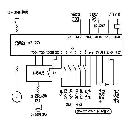 abbacs-15kw控制版电路图