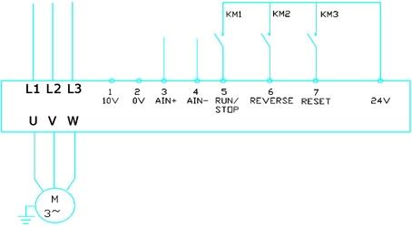 西门子440变频器接线图