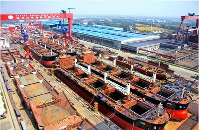 """是太平洋造船集团倾力打造的一流的""""将简单产品做到极致""""的船舶生产"""