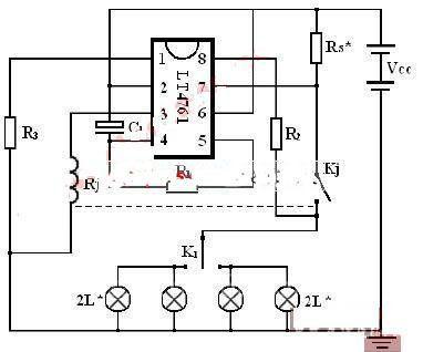 电动车闪光器电路设计