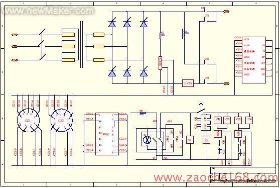 图1 为设计的智能充电机主电路.