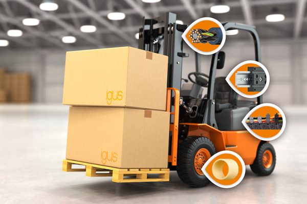 使用工程塑料降低工业卡车的维护和运行成本