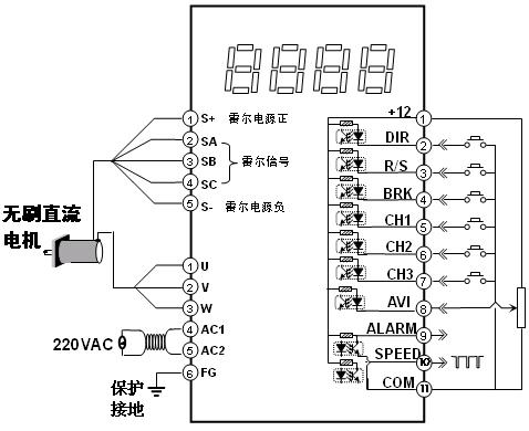 203C 无刷直流电机驱动器 运动控制 产品 图片 参数 文章 论坛 下载 图片