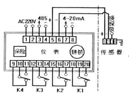 实利sl-dl型射频电容式连续测量物位计