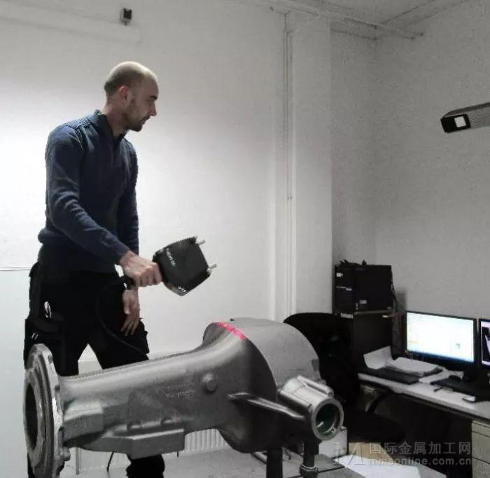 手持激光扫描仪