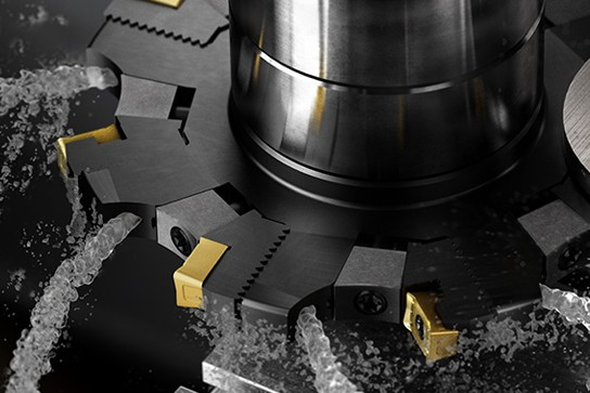 三面刃槽铣刀增加新特性,槽铣性能更上一层楼