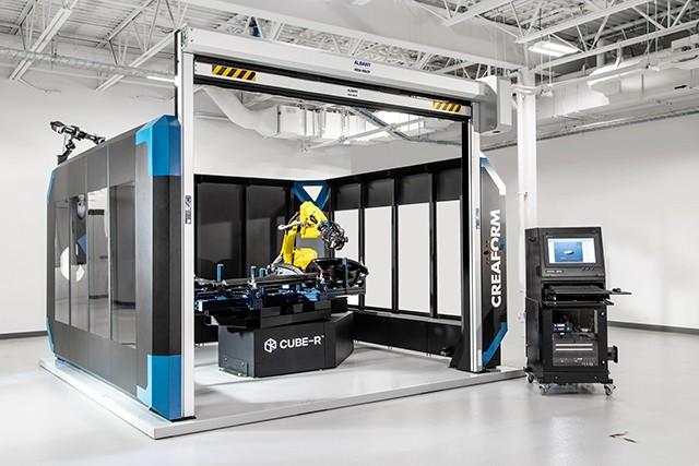 Creaform CUBE-R-在线检测专用交钥匙 3D 扫描坐标测量机
