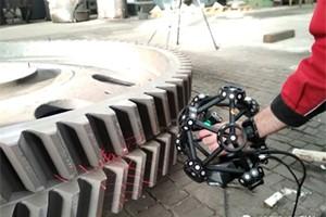 采用 CREAFORM MetraSCAN 3D 扫描仪测量铸造部件