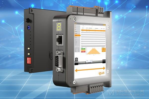 用于igus直线驱动机构的新型dryve电机控制系统轻