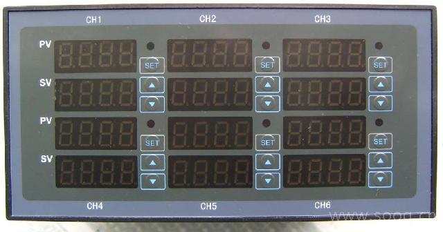 深圳索远 xmy5090系列6通道pid温控仪