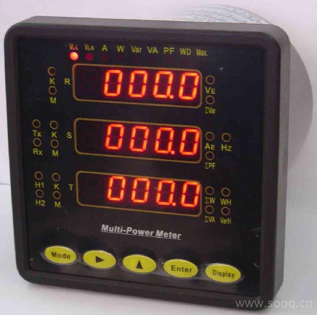 av300三相电流,电压表