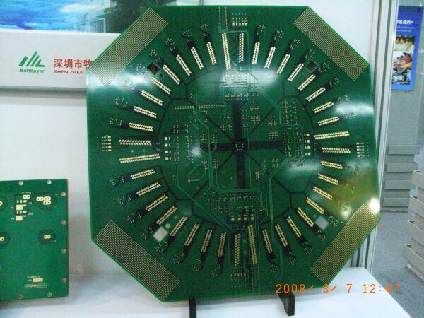 牧泰莱电路技术有限公司的高密度,多层印刷电路板.