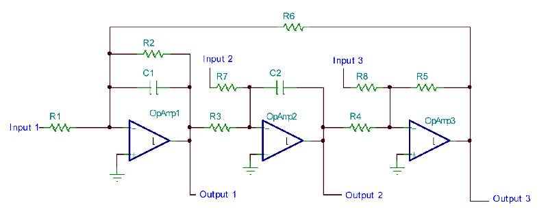 积分电路 低通滤波器