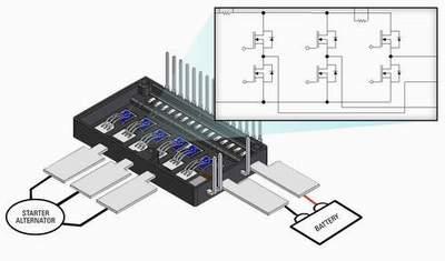 启动器交流发动机面临的主要技术挑战是设计能在125°c环境高清图片