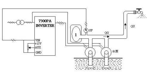 acs510c恒压供水接线图
